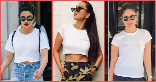 10 Cool *New* Ways Bollywood Wears Its Fave White T-Shirt; Find Your Tee Twin!