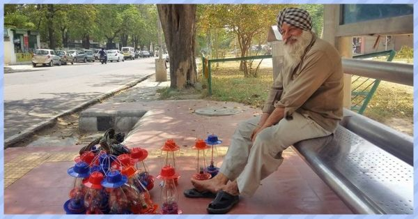 Internet Helped Out An Old Lamp Seller In Chandigarh & The Story Will Warm Your Heart