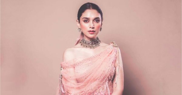 We Are In LOVE With Aditi Rao Hydari's Minimal Makeup & Hair Look for #IndiaCoutureWeek!