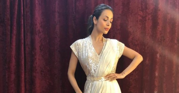 Malaika Arora's Jumpsuit Saree Is A Thing You Need To See To Believe!