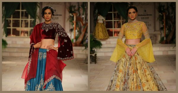 These *New* Bridal Lehengas Have More Drama Than An Ekta Kapoor Serial & Okay, Wow!