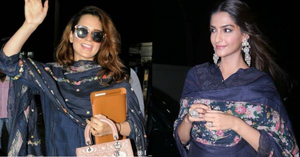 Sonam Kapoor VS. Kangana Ranaut: Who Nailed Their Pero *Salwaar-Kameez* Better?