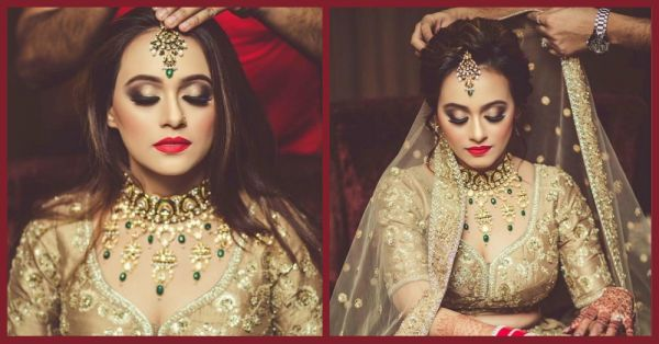This Bride's All Gold Look Had Me Going 'Hor Dass Kinniya Tareefan Chaidiyan Tainu'?