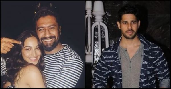 Vicky Kaushal And Sidharth Malhotra Attend Kiara Advani's Star-Studded Birthday Bash