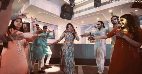 This Bride & Her Friends Pulled Off A Lip Dub On *Tareefan* And It's Way Too Good!