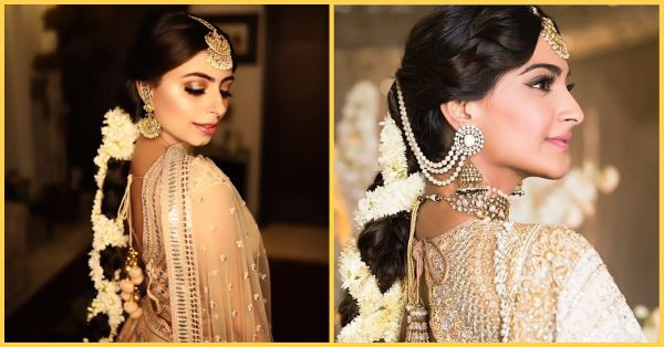 This Makeup Artist Replicated Sonam's Sangeet Look And We Can't Decide Who Looks Prettier!