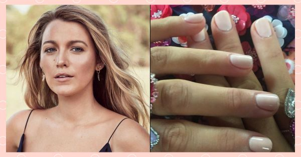 #NailsOfTheDay: Get Blake Lively's Baby Pink Manicure For Less Than Rs. 200