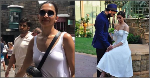 Look Who We Just Spotted: Love Birds Deepika & Ranveer Are Secretly Holidaying In Florida!