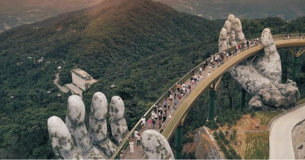 This 'Hands Of God' Bridge In Vietnam Has Become An Insta-Sensation!