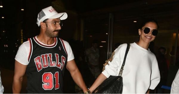 Ranveer-Deepika Are Good Sports At The Airport And So Are Their Outfits!