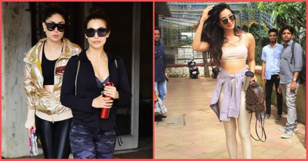 That Hotline 'Bling': Kareena And Kiara Wore Golden... To The Gym!