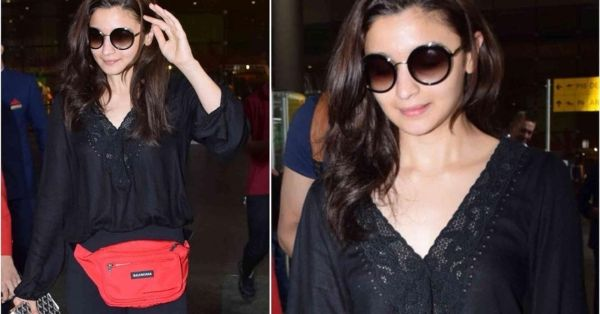 Alia Bhatt's Latest Airport Look Shows Us How NOT To Style A Belt Bag