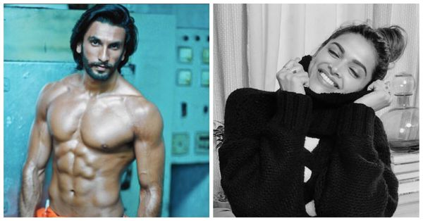 This Celeb Is Getting Naughty With Ranveer Singh And No, It's Not Deepika!