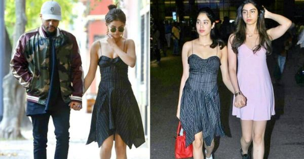 #TBT: Selena & Janhvi Wore The Same Dress And IDK Which 'One To Love And One To Lose'