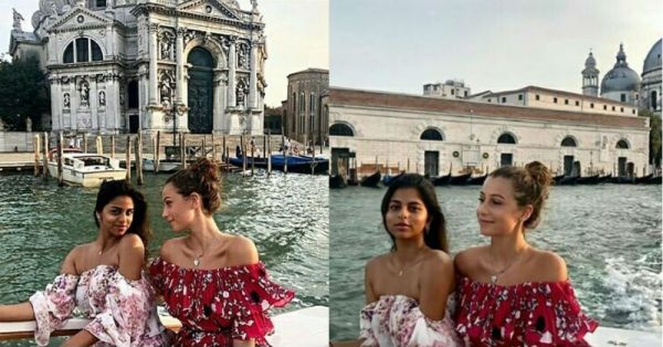 Miss Khan Is Having A *Suhana Safar* In Venice Thanks To This Flirty Off-Shoulder Dress