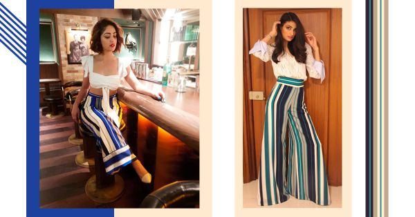 Add Extra Inches To Your Height With 3 Bollywood Approved White + Stripe Combos!