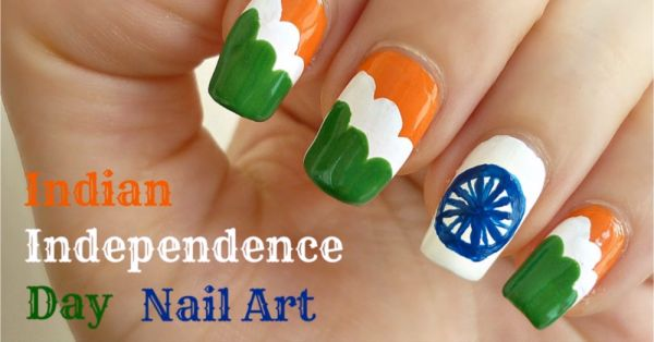 Feeling Patriotic? These Tricolour Nail Art Designs Are Perfect For Independence Day