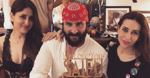 Saif Ali Khan's Birthday Pictures: Kareena, Sara & Karisma Spotted, But Where's Taimur?