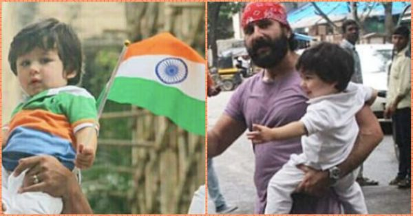 Bollywood Celebs Celebrate Independence Day But Taimur Steals The Show With Tiranga!