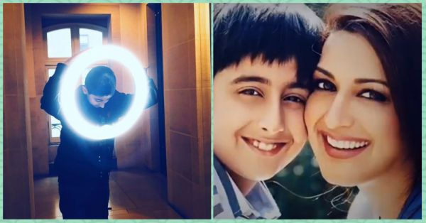 Sonali Bendre's Son Just Proved That He's As Positive As His Mother With This New Post