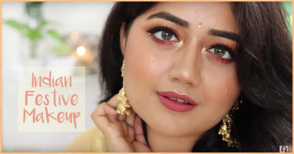 #VideoOfTheDay: We've Bookmarked This Rakhi-Inspired Makeup Tutorial Already!