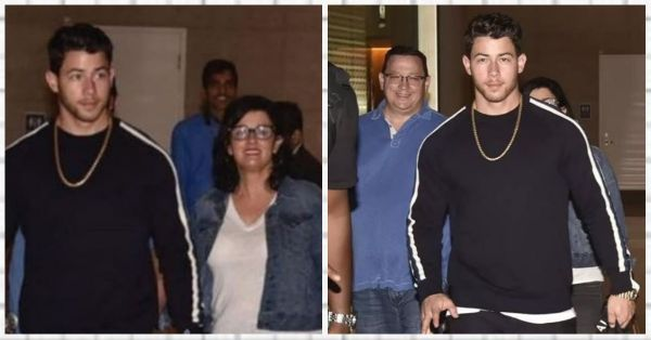 Nick Jonas And Family Just Landed In Mumbai And It's Sagai Time For Priyanka Chopra!