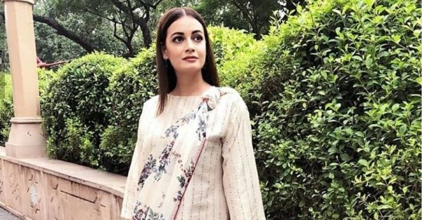 Dia Mirza Gets *Knotty* In This Groundbreaking Saree Style & We Know Why!