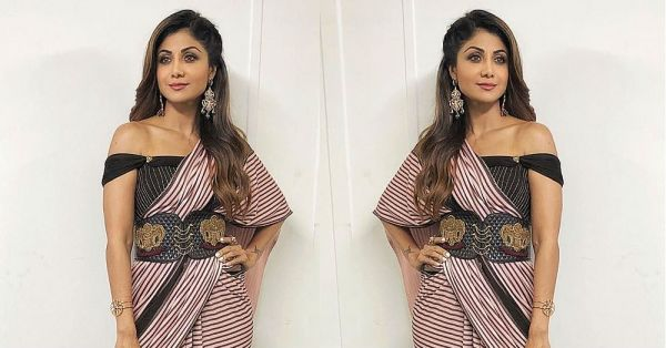 Shilpa Shetty Looks Like A Total *Hot Mesh* In This Make-Believe Saree