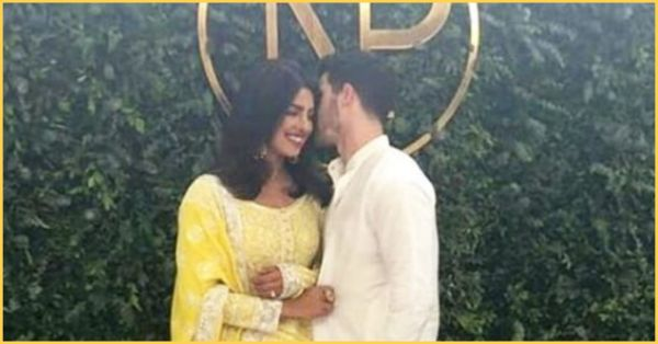 The First Picture From Priyanka-Nick's Roka Is Here & Oh My, They Look Amazing Together!