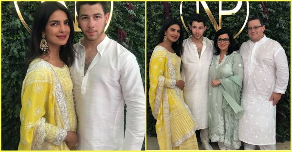 We Picked Out 5 Pretty Yellow Suits To Recreate Priyanka Chopra's Roka Look!