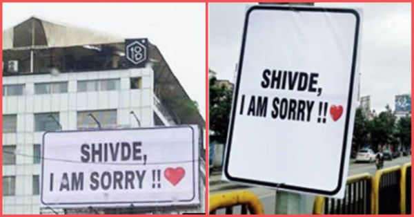 The Pune Man Who Put Posters All Over The City For His GF Is Now In Trouble With The Cops!