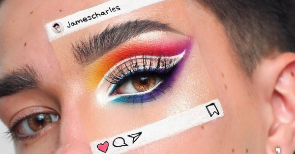 #InstaCeption: People Are Painting Instagram Posts On Their Faces Using Makeup