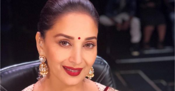 #WhatsThatLipColour: Madhuri Dixit-Nene's Marsala Pout Decoded!