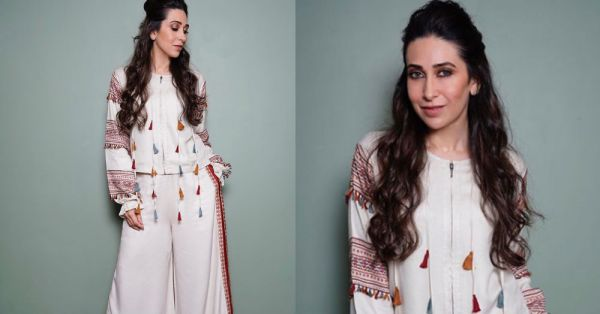 #SportySunday: Trust Karisma Kapoor To Pull Off A Desi Tracksuit!