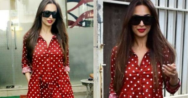 Malaika Arora Khan's Red Dress Is The Cherry On Top Of Her Own Birthday Cake!