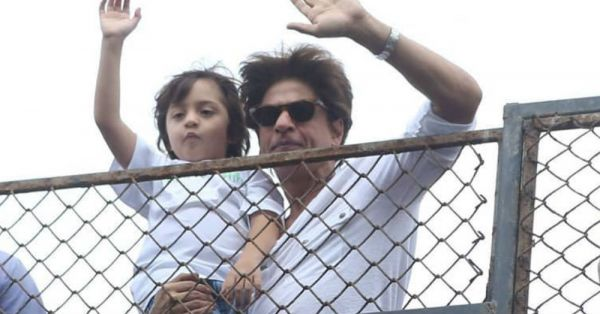 SRK & AbRam Twinning While Wishing Fans *Eid Mubarak* Is The Highlight Of Our Week