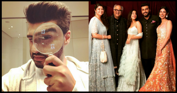 #EveryBrotherEver: Arjun Kapoor Hilariously Trolls His Sisters A Day Before Raksha Bandhan!