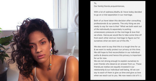 Masaba Gupta Announces 'Trial Separation' From Husband Madhu Mantena In A Heartfelt Post