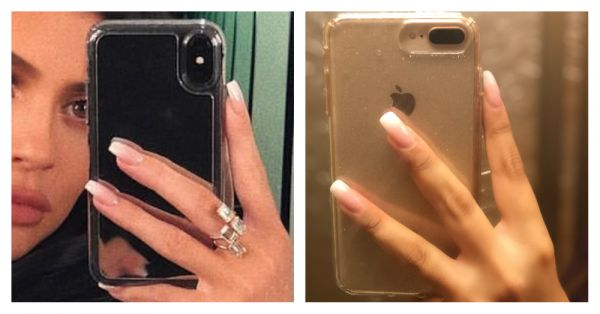 I Didn't Know I Was Riding A European Trend Wave When I Tried This Nail Look Inspired By Kylie Jenner!