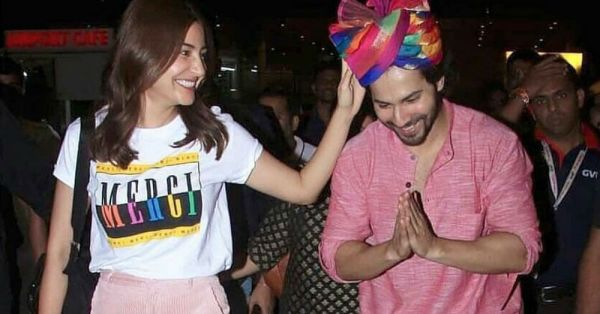 Varun Dhawan & Anushka Sharma's Outfits Are A Perfect Match Just Like Sui-Dhaaga