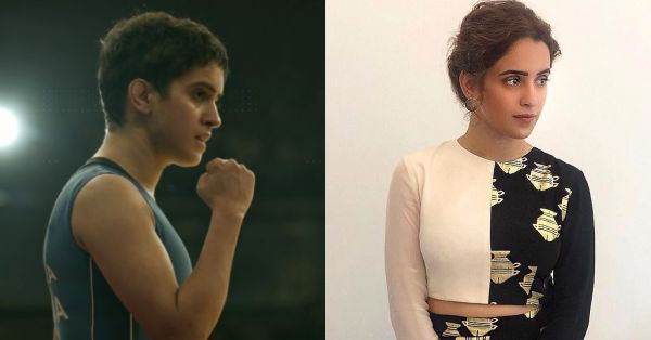 Dangal's Sanya Malhotra Is Out Of The Wrestling Ring & Into The Fashion Game!