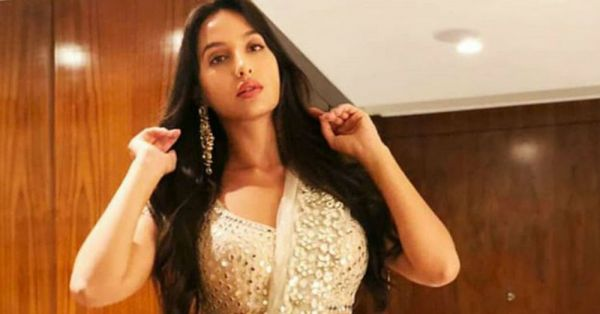 Only Nora Fatehi Can Set Our Hearts On Fire In An All-White Lehenga!