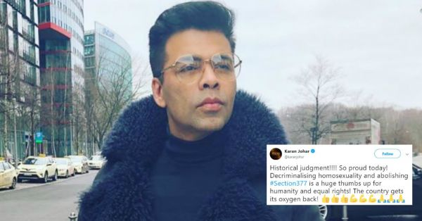 Bye Bye, Section 377: Bollywood Celebs Rejoice As They Hail The Supreme Court's Judgement!