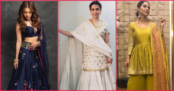 Sanya Malhotra Just Gave Us A 'Pataakha' Festive Wear Idea! And Here Are 5 Other Celebs And Their Lit Outfits