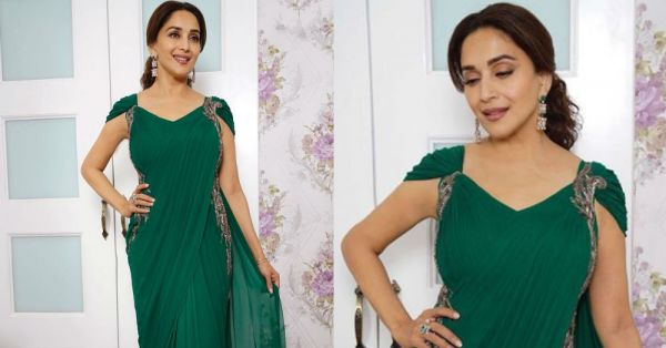 Madhuri Dixit Ne *Humein Maar Daala* & Her Emerald Green Saree Is To Blame!