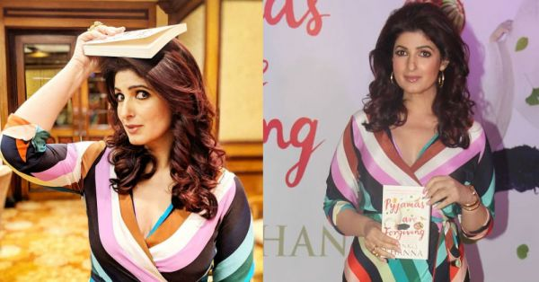 Twinkle Khanna's Wrap Dress Will Make You Love Her Curves And All Her Edges