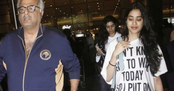 Janhvi Kapoor Didn't Know What To Wear So She Put On This Designer T-shirt