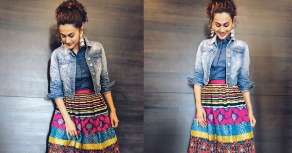 Trust Taapsee Pannu To Wear Something Western & Still Look *Desi* AF