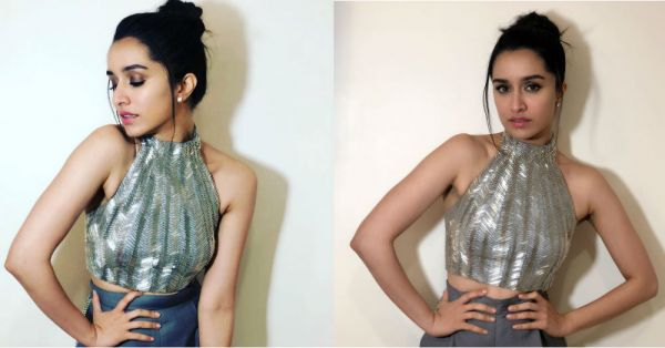 Shraddha Kapoor's Blingy Outfit Will Make You Halt(er) In Your Tracks