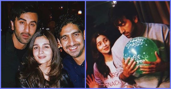 Alia Bhatt's New Photo With Boyfriend Ranbir Kapoor Is Full Of Joy!